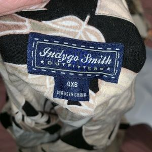 Indygo Smith outfitters Shirts - Indygo Smith Outfitters 4XB 100% Rayon